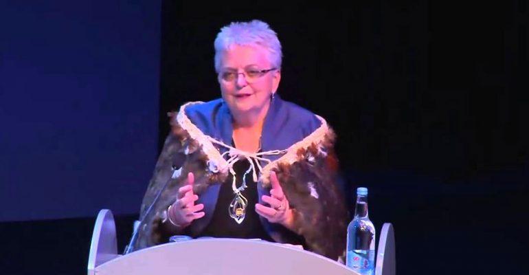 Soroptimist International President Yvonne Simpson