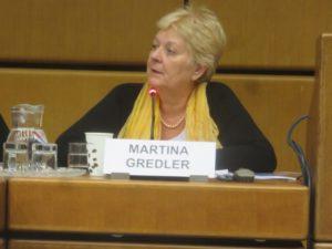SI UN Representative in Vienna, Martina Gredler