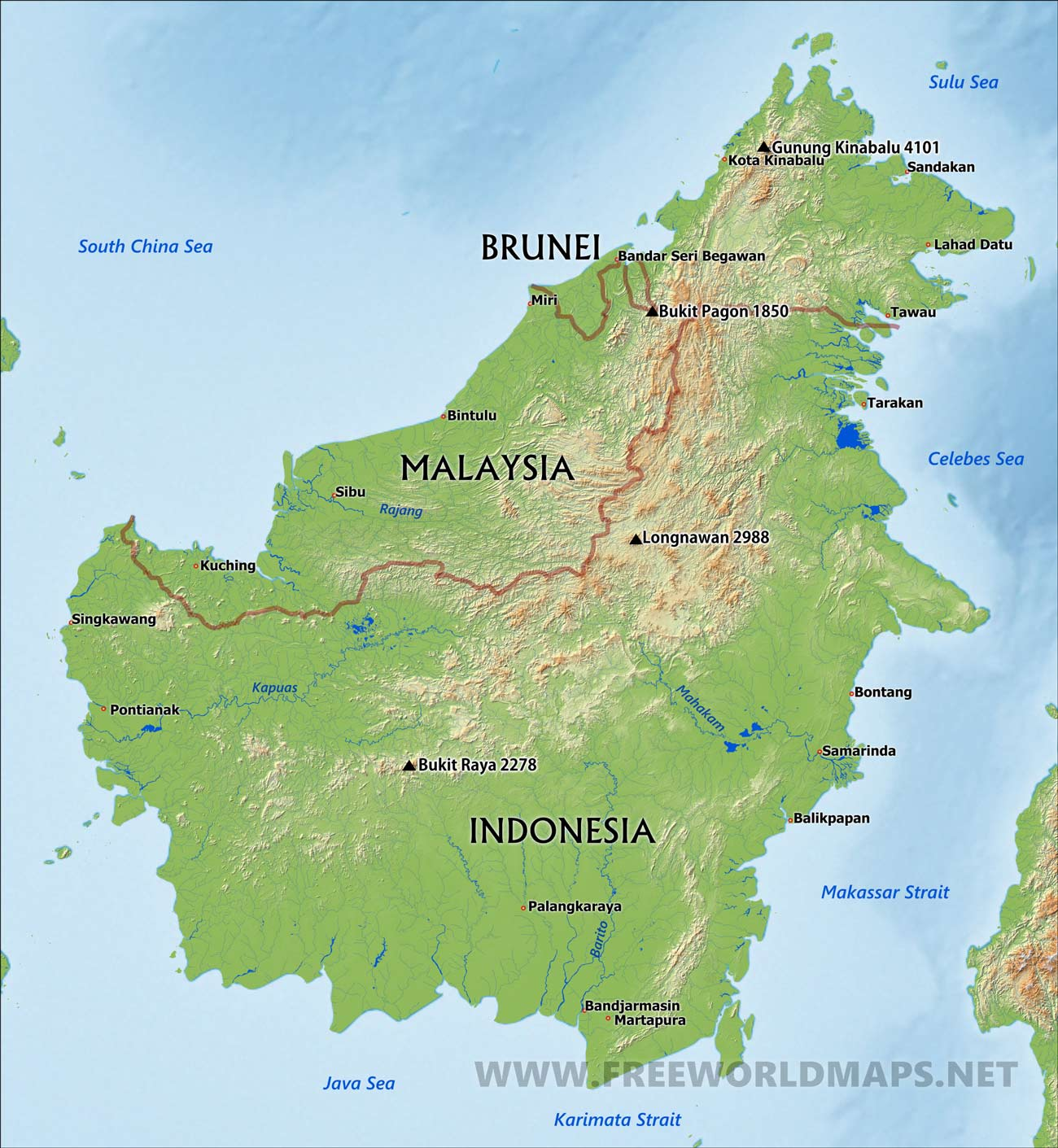 Borneo Island: Soroptimist International