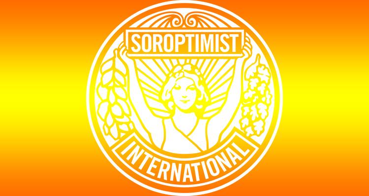 Orange and Yellow colour logo - Soroptimist International