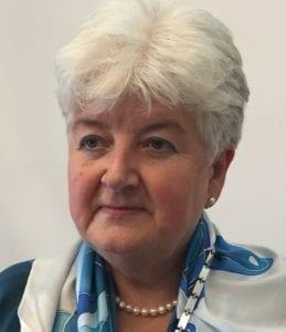 A photo of SIE President Anna Wszelaczyńska