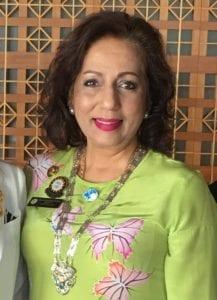A photo of SISWP President Anusha Santhirasthipam
